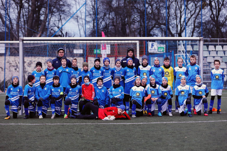 """Piłkarska sobota na """"Lorecie"""" uczniów z II ligi wojewódzkiej w kat. D1 oraz D2."""