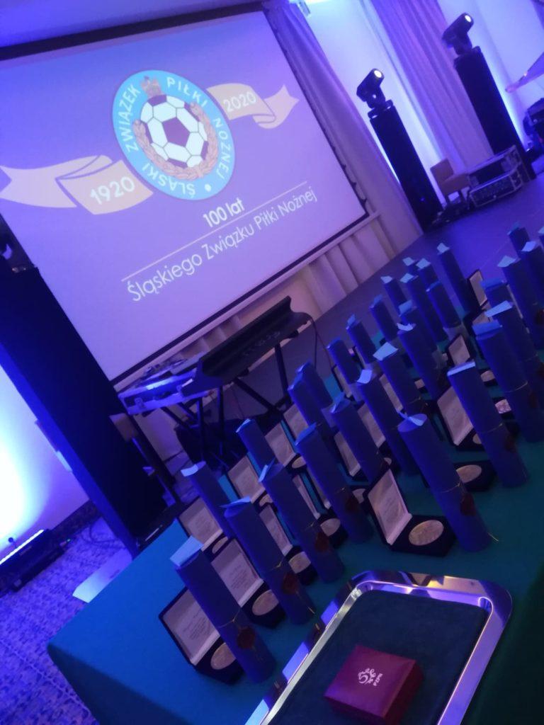 Gala 100-lecia Śląskiego Związku Piłki Nożnej w Częstochowie