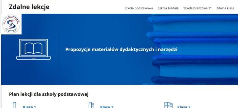 Propozycje materiałów dydaktycznych i narzędzi