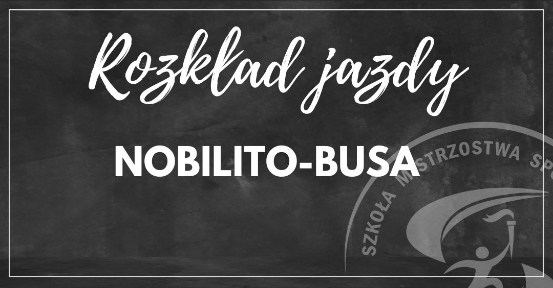 Rozkład jazdy NOBILITOBUSA 2021/2022